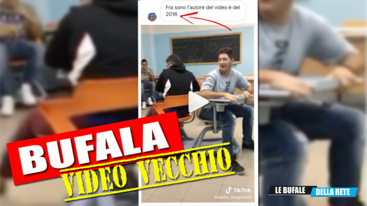"""AUTO SCONTRO COI BANCHI A ROTELLE"", ma il video è del 2016"